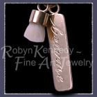 14 Karat Yellow Gold 'Inspirational Baby Tooth' Pendant Image