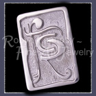 Sterling Silver 'Flatrock Cellars' II Lapel Pin Image