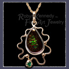 'The Wiz' Ammolite Pendant Image